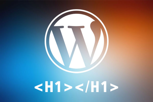 Собственный H1 для Wordpress